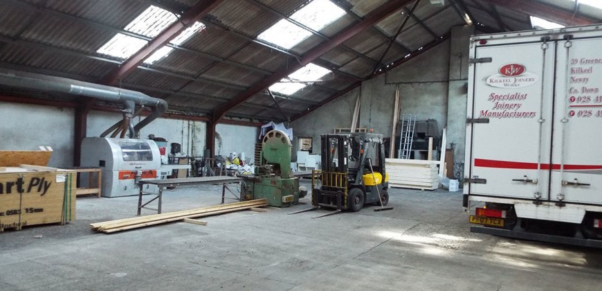 Kilkeel Joinery Works – Sale Agreed